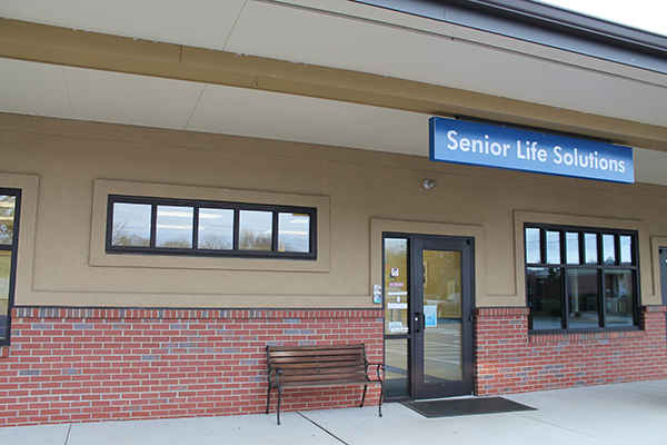 Senior Life Solutions Office is across from the hospital