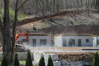 Construction at Bryson Village