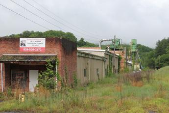 Paula Bishop told Bryson City Town Board Monday that she is interested in developing the old Powell Lumber property
