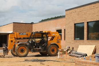 Construction at Swain High