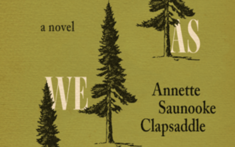 "Clapsaddle's novel is titled ""Even As We Breath."""